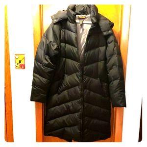 Woman'sBlack Brooklyn Industries coat Size XL NWOT